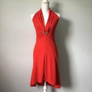 Tadashi Shoji Halter Dress